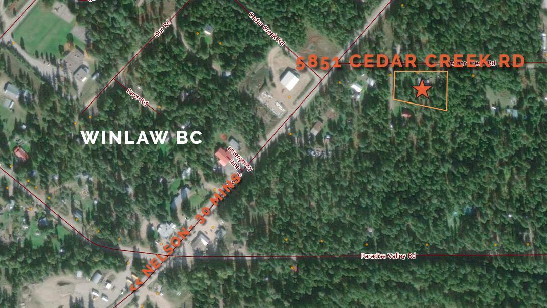 5851 Cedar Creek Road