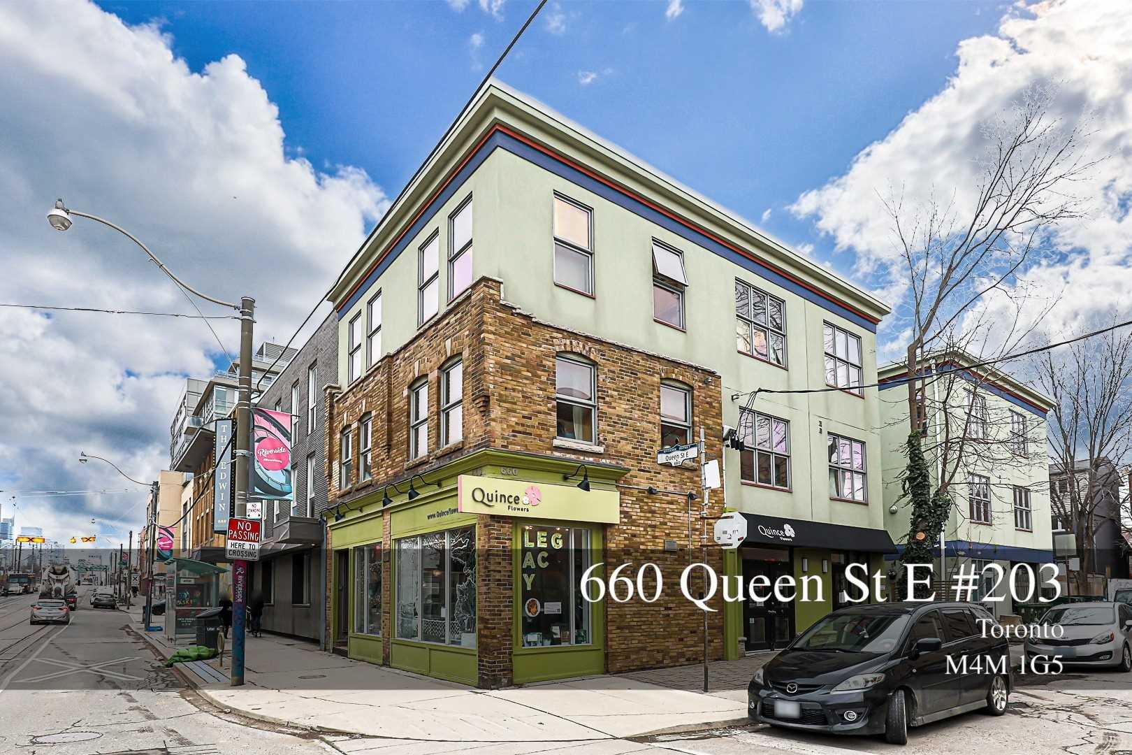 203 - 660 Queen St E