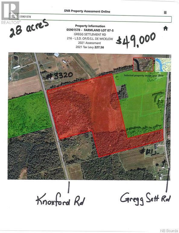 lot 075 Gregg Settlement Road